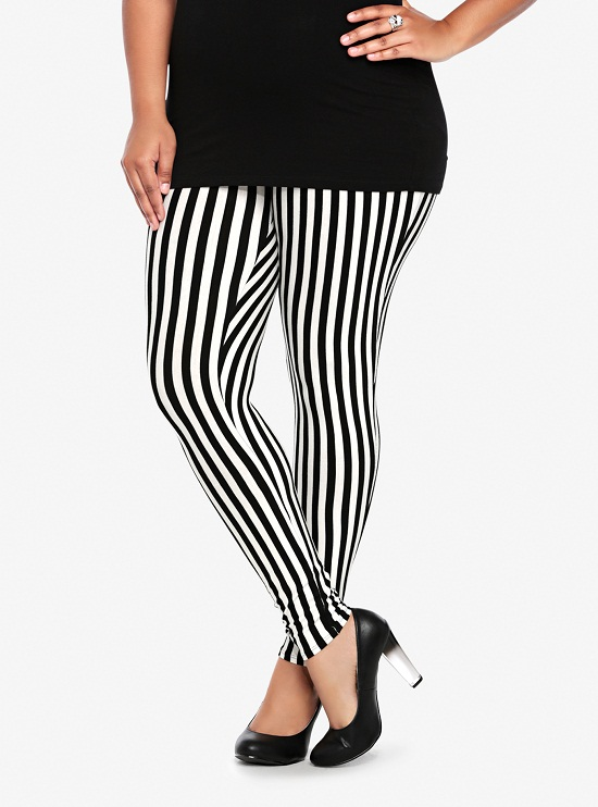 ff630156253 Pictures of Vertical Striped Leggings Plus Size Vertical Striped Leggings  ...