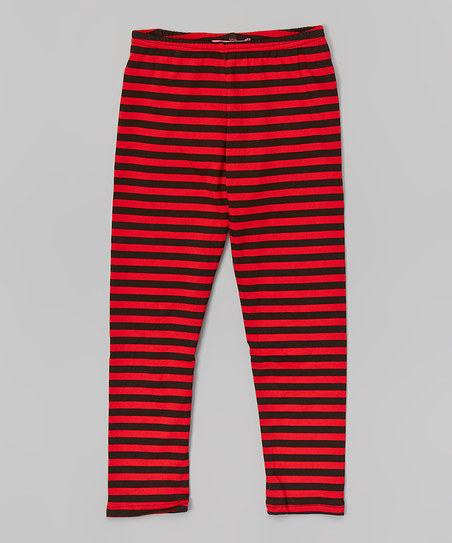 Girl's Striped Leggings – I Need Leggings