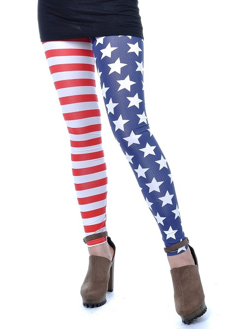 Red White and Blue Leggings – I Need Leggings