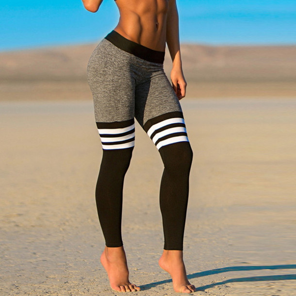 939eada2c0ac4 Striped Workout Leggings – I Need Leggings