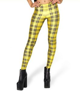 Black and Yellow Leggings
