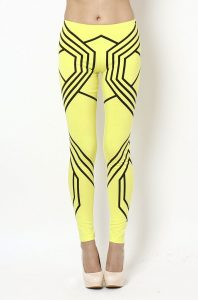 Black and Yellow Leggings Pictures
