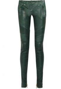 Green Leather Leggings Images