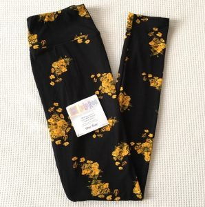 Images of Black and Yellow Leggings