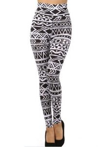 Images of High Waisted Cotton Leggings