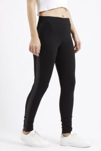 Images of Leather Stripe Leggings