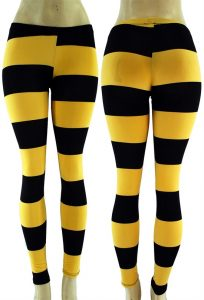 Pictures of Black and Yellow Leggings