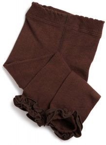 Brown Baby Leggings